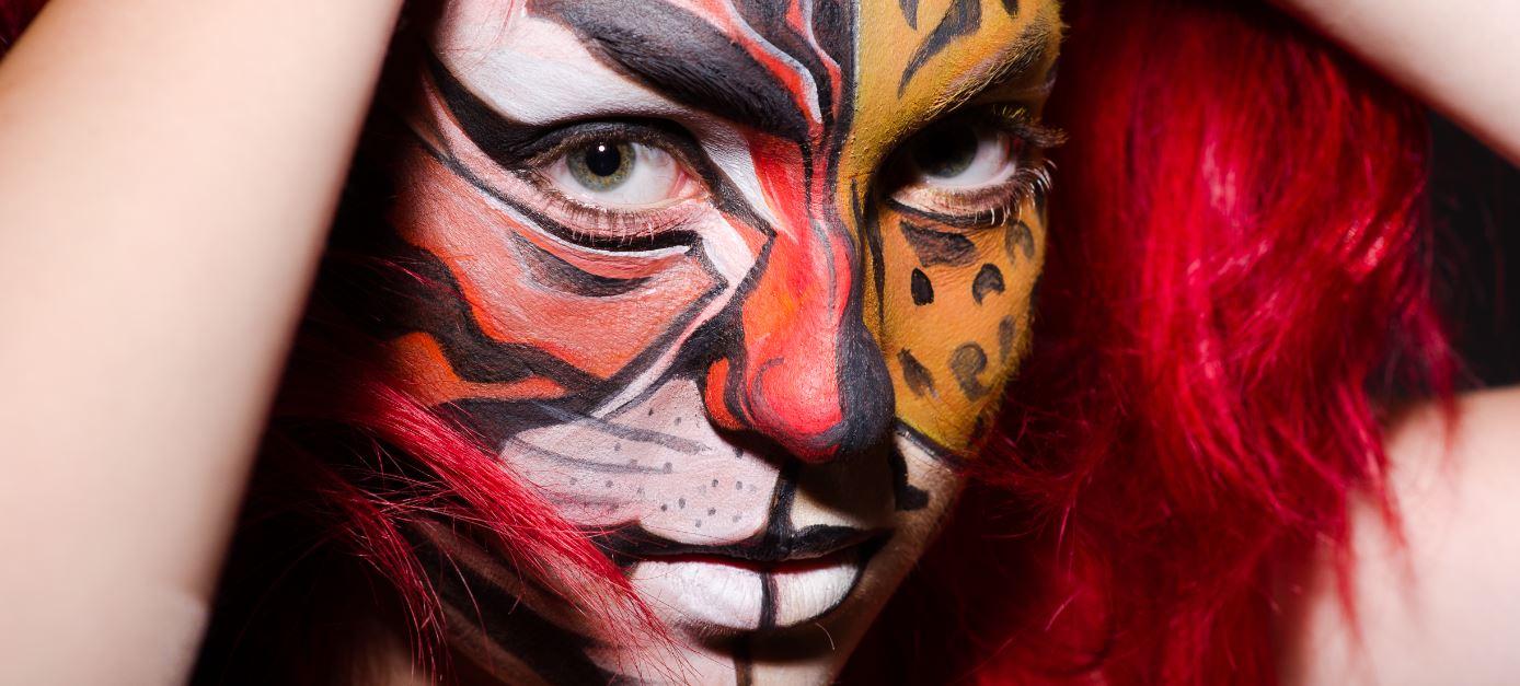 shminken tijger